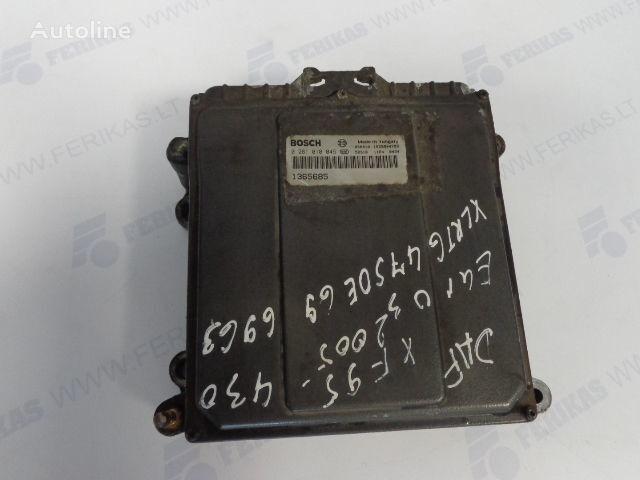 DAF ECU EDC Engine control 0281010045,1365685, 1684367, 1679021 (WOR control unit for DAF tractor unit