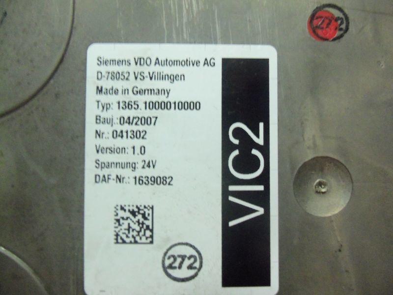 DAF VIC2 electronic control unit 1639082 control unit for DAF 105XF tractor unit