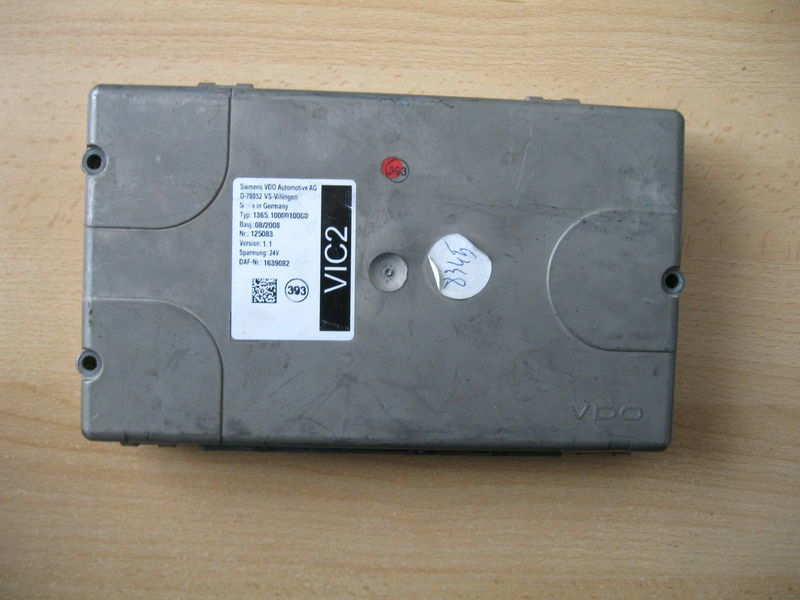 STEROWNIK VIC 2 control unit for DAF XF 105 / CF 85 tractor unit