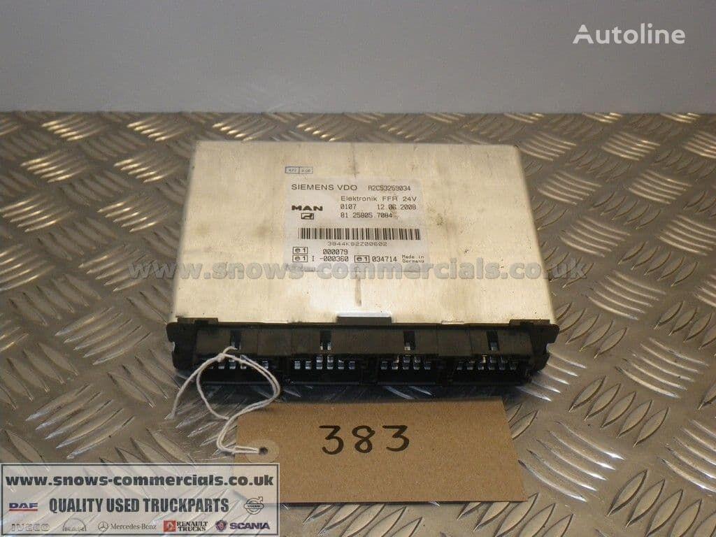 FFR Unit control unit for MAN TGM truck