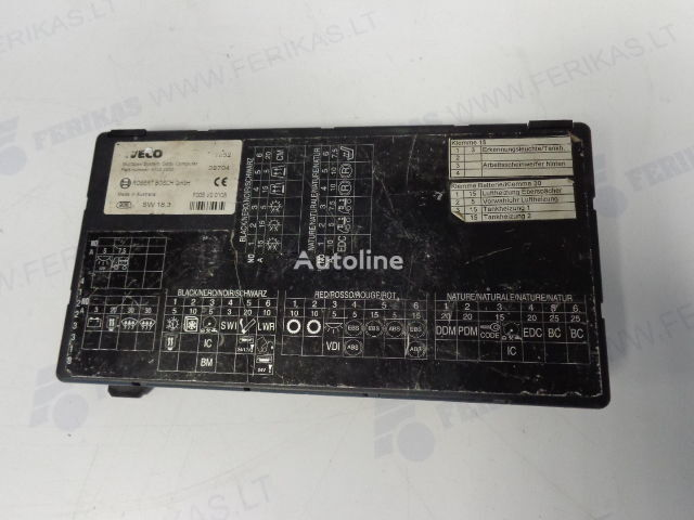IVECO Body Computer control unit 41221000 (WORLDWIDE DELIVERY) ROBERT  control unit for IVECO tractor unit
