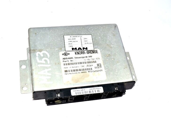 KNORR-BREMSE 4-series 18.255 (01.95-) (0486104033) control unit for MAN 4-series L/M/F (1993-2005) truck