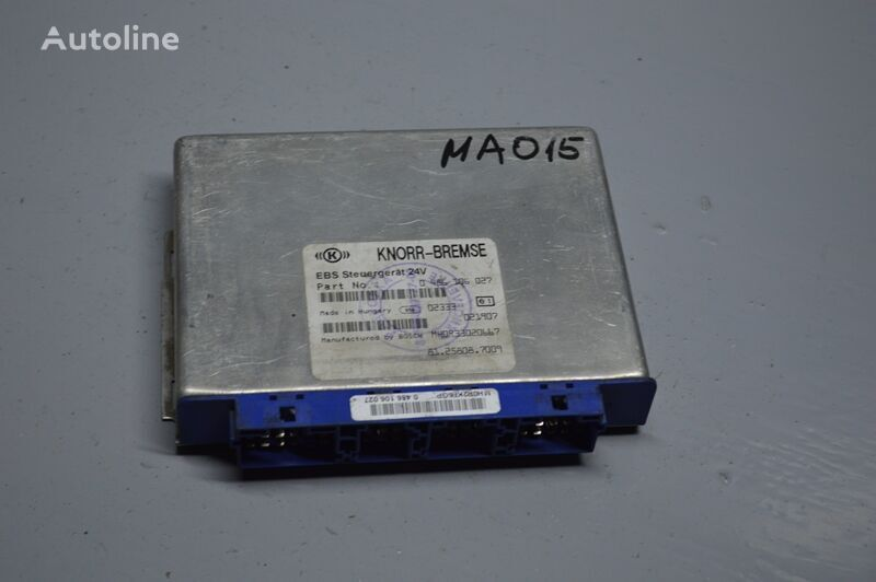 KNORR-BREMSE EBS control unit for MAN TGA (2000-2008) truck