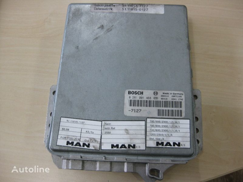 MAN BOSCH 0281001468 control unit for MAN truck