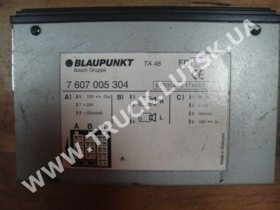 MAN 7607005304 control unit for MAN truck