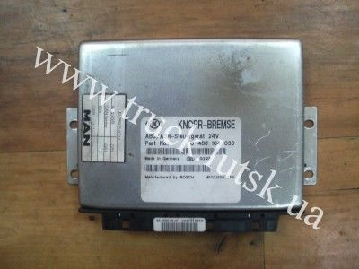 MAN ABS 0486104033 control unit for MAN truck