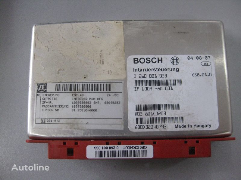 MAN BOSCH Bosch control unit for MAN truck