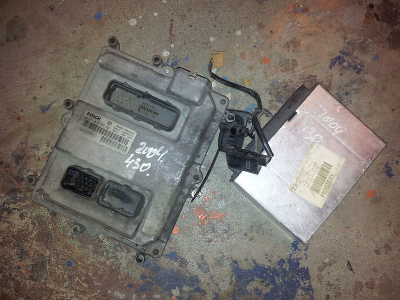 MAN EURO3, 430PS ignition set, EDC, ECU, BOSCH 0281010255 + FFR control unit for MAN TGA tractor unit