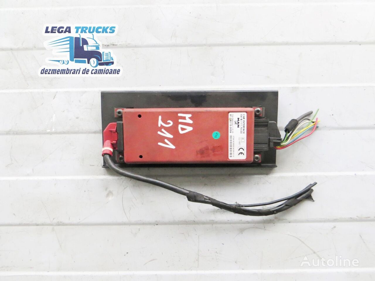 MAN Interfata camion 81.28215-0056 MD/211 control unit for tractor unit