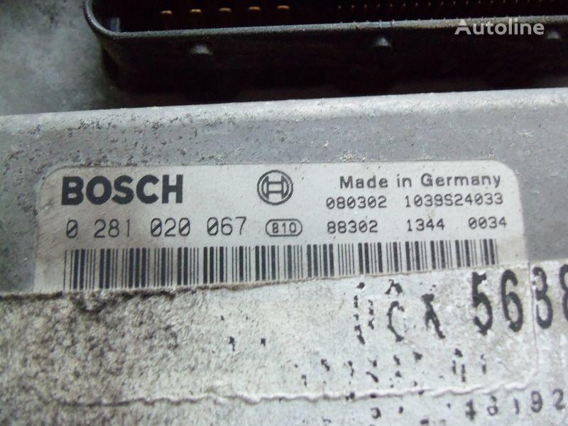 MAN TGA, TGX, engine computer EDC 480PS D2676LF05 ECU BOSH 0281020067 EURO4, 51258037544, 51258037563, 51258037834, 51258037674, 51258337008, 0281020067 control unit for MAN TGX tractor unit