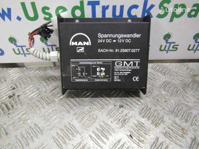 MAN VOLTAGE DROPPER 24-12V (81.25907.0277) control unit for MAN TGM/TGL  truck