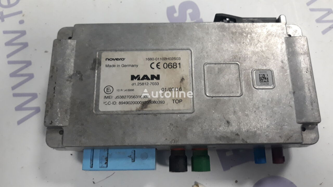 MAN telematic control unit for MAN TGX tractor unit