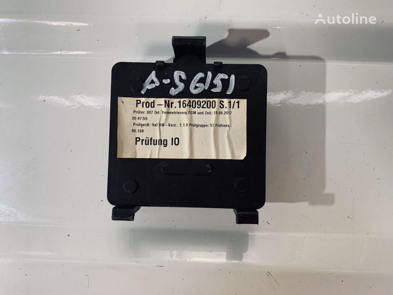 (16409200) control unit for MERCEDES-BENZ ACTROS tractor unit