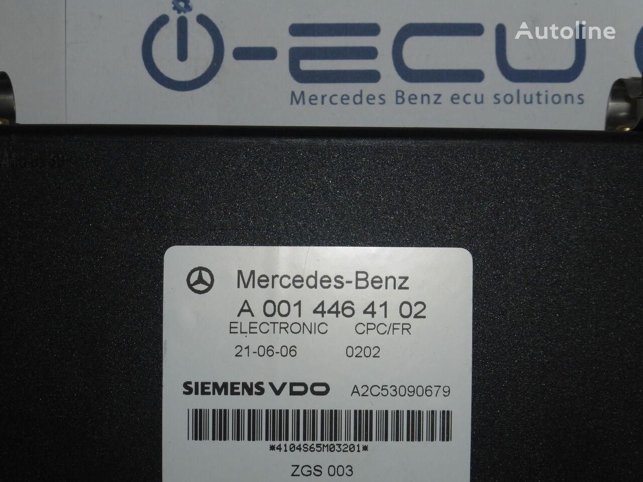 MERCEDES-BENZ A 0014464102 control unit for MERCEDES-BENZ ACTROS truck