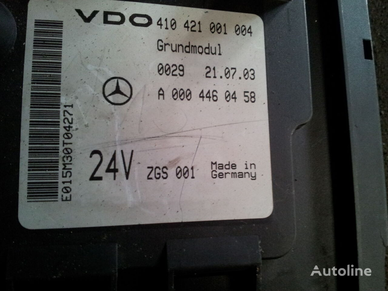 Control Unit Mercedes-Benz Used Part No.: Mercedes Benz Actros MP2, MP3 GM  unit, Grundmodul, Fuse box, central electric plate, EURO3, EURO5,  0004467358, 0004461958, 0004467558, 0004460058, 0004460458, 0004460758,  0004461058, 0004461458, 00... (179968 ...Plant & Equipment