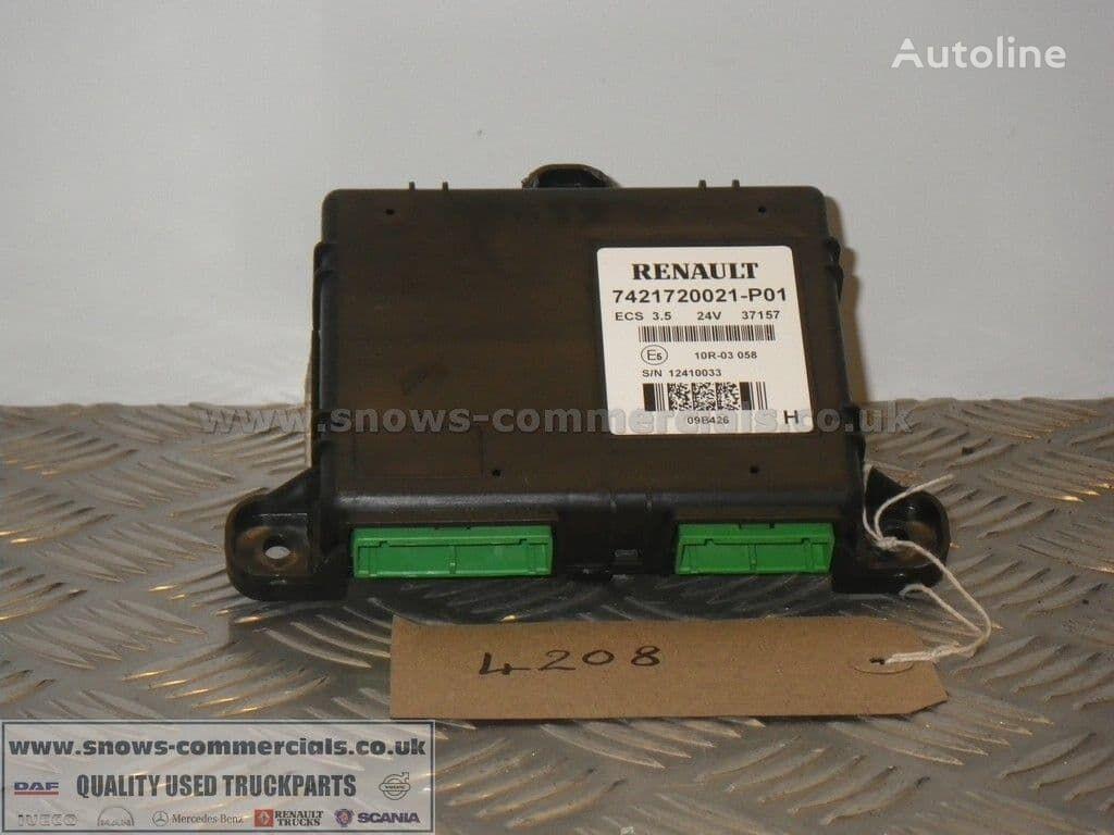 RENAULT ECS 3.5 ECU 7421720021-P01 control unit for truck