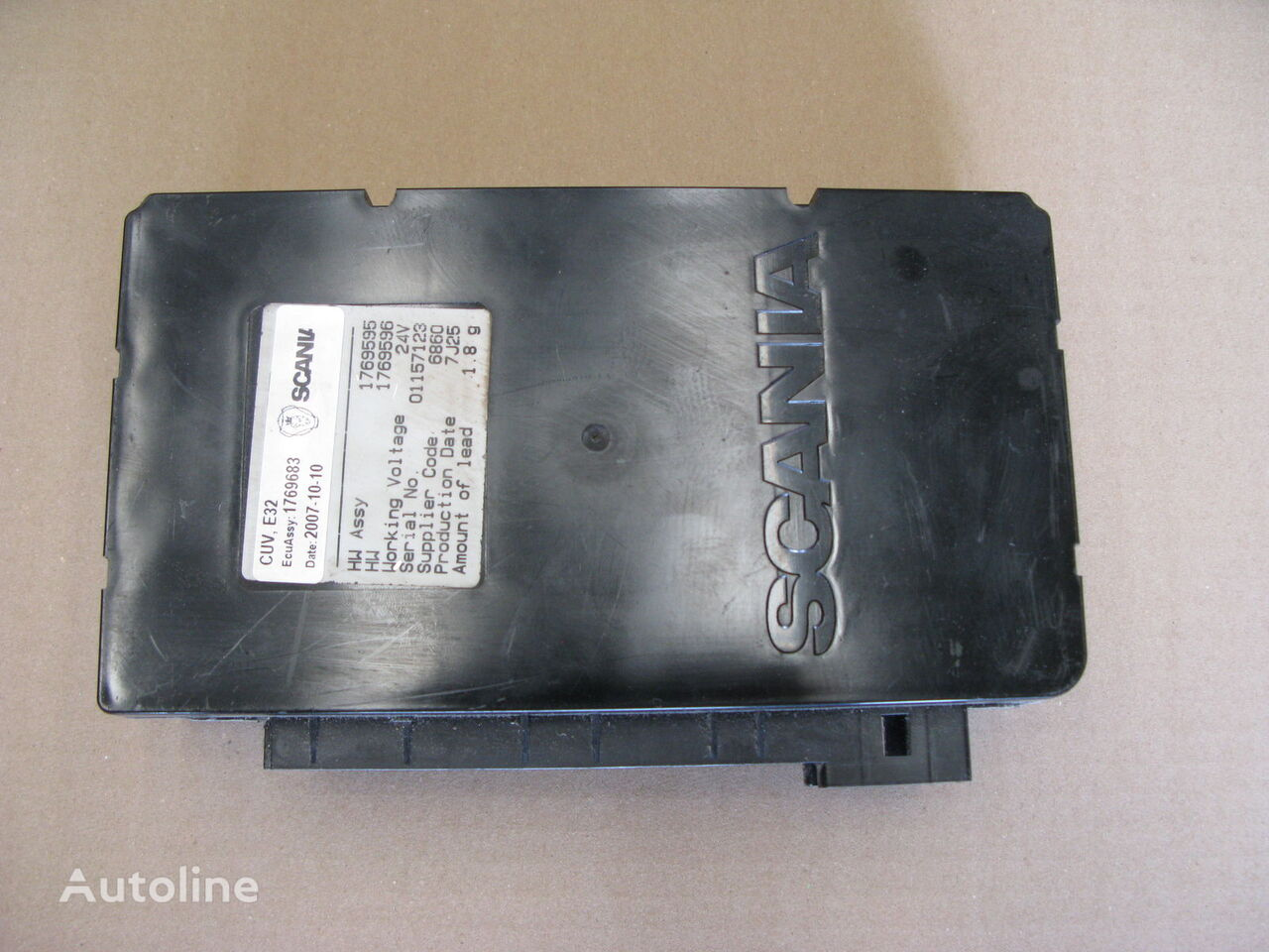 SCANIA (1769683) control unit for SCANIA R tractor unit