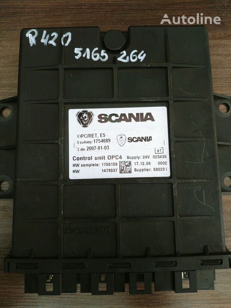 SCANIA control unit for SCANIA tractor unit
