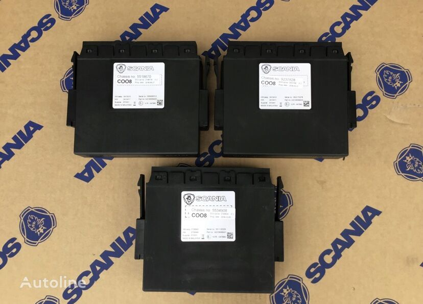 SCANIA control unit for tractor unit