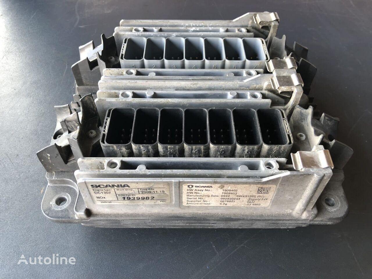 SCANIA ECU DC 13.07 EU5 – XPI – 480hp control unit for truck