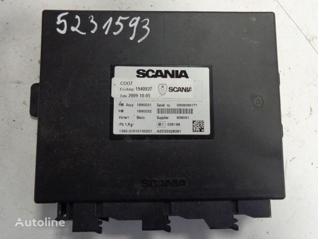 spare part control unitSCANIA ECU set DC1222 COO7 ignition with key 4_big 17110611031761240100 93 rv allison shifter wiring diagram allison md 3060 wiring  at gsmx.co