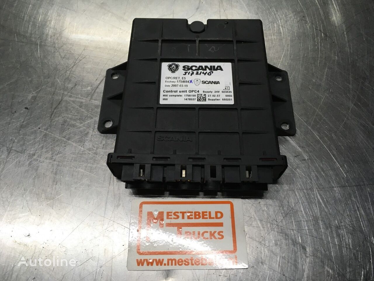 SCANIA Stuurkast OPC4 control unit for SCANIA R truck