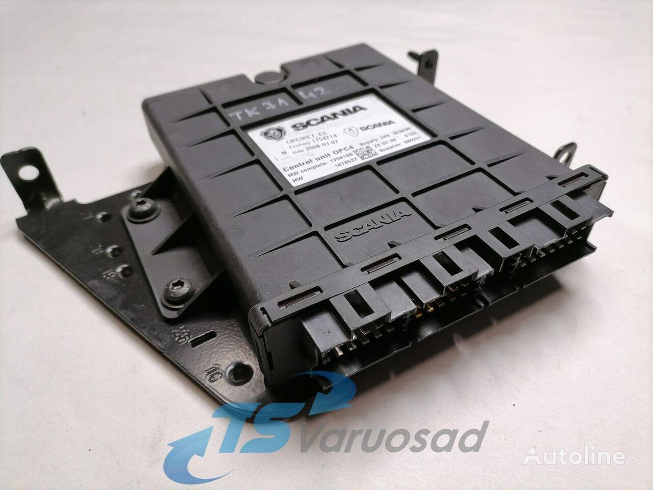 SCANIA juhtplokk, käigukast ECU, OPC4/RET control unit for tractor unit