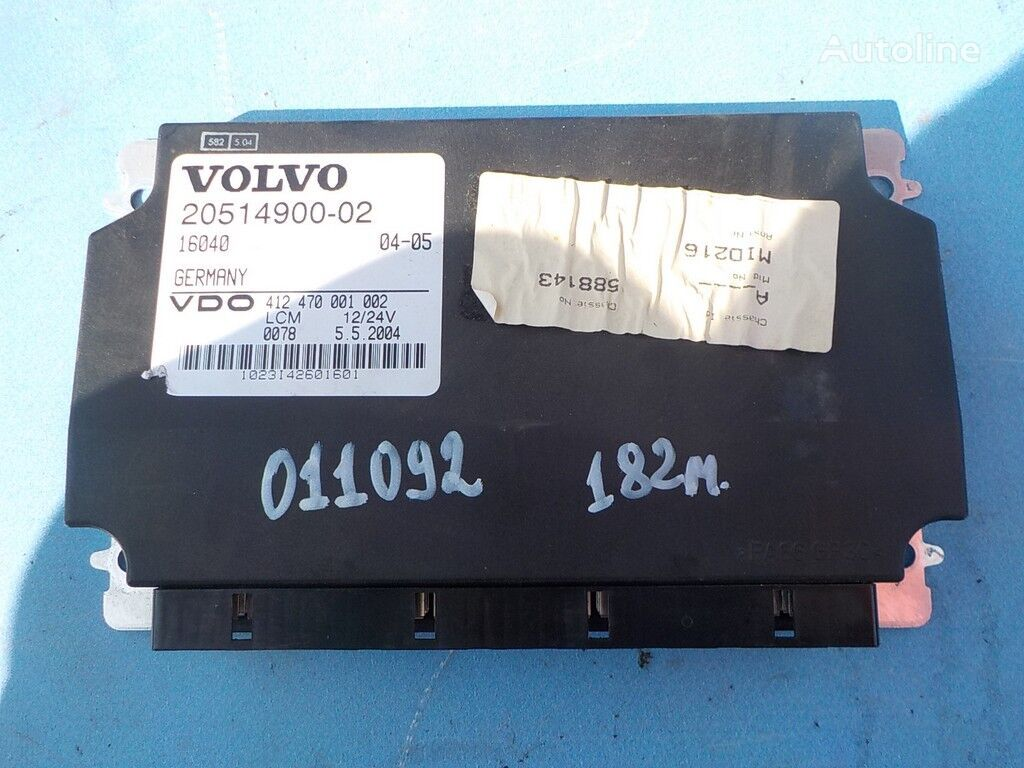 control unit for VOLVO truck