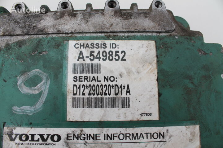 VOLVO A-549852 (FH) control unit for FH460 truck