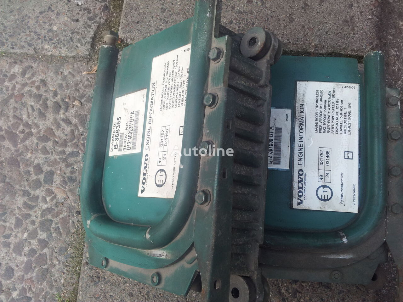 VOLVO FH12, EURO3 D12D, EDC, ECU, D12D420, D12D460, D12D380, engine control unit 460PS; 420PS; 20440501; 20440500, 3161962, 20577131, 85107712, 85000086, 85000388, 20582958, 85111405, 85107712, 03161962, 08170700 control unit for VOLVO FH12 tractor unit