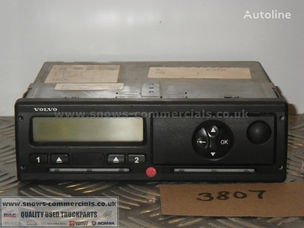 VOLVO Tachograph 21593381 control unit for truck