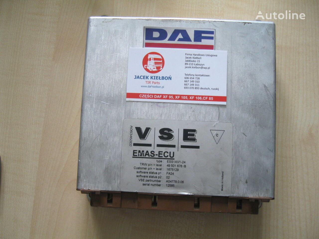 VSE EMAS OSI SKRĘTNEJ control unit for DAF XF 105 BDF truck