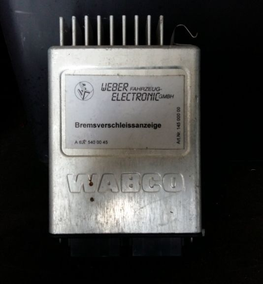WABCO A6275400045 inny control unit for bus