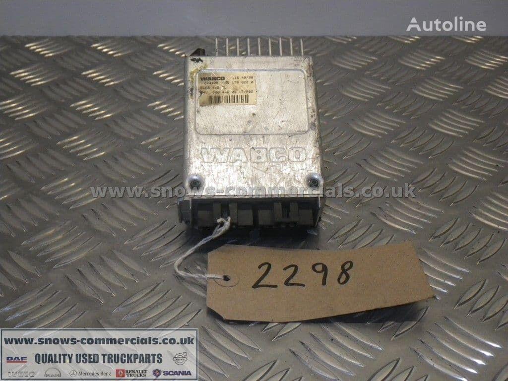 WABCO ECAS ECU A0004462117 control unit for MERCEDES-BENZ truck