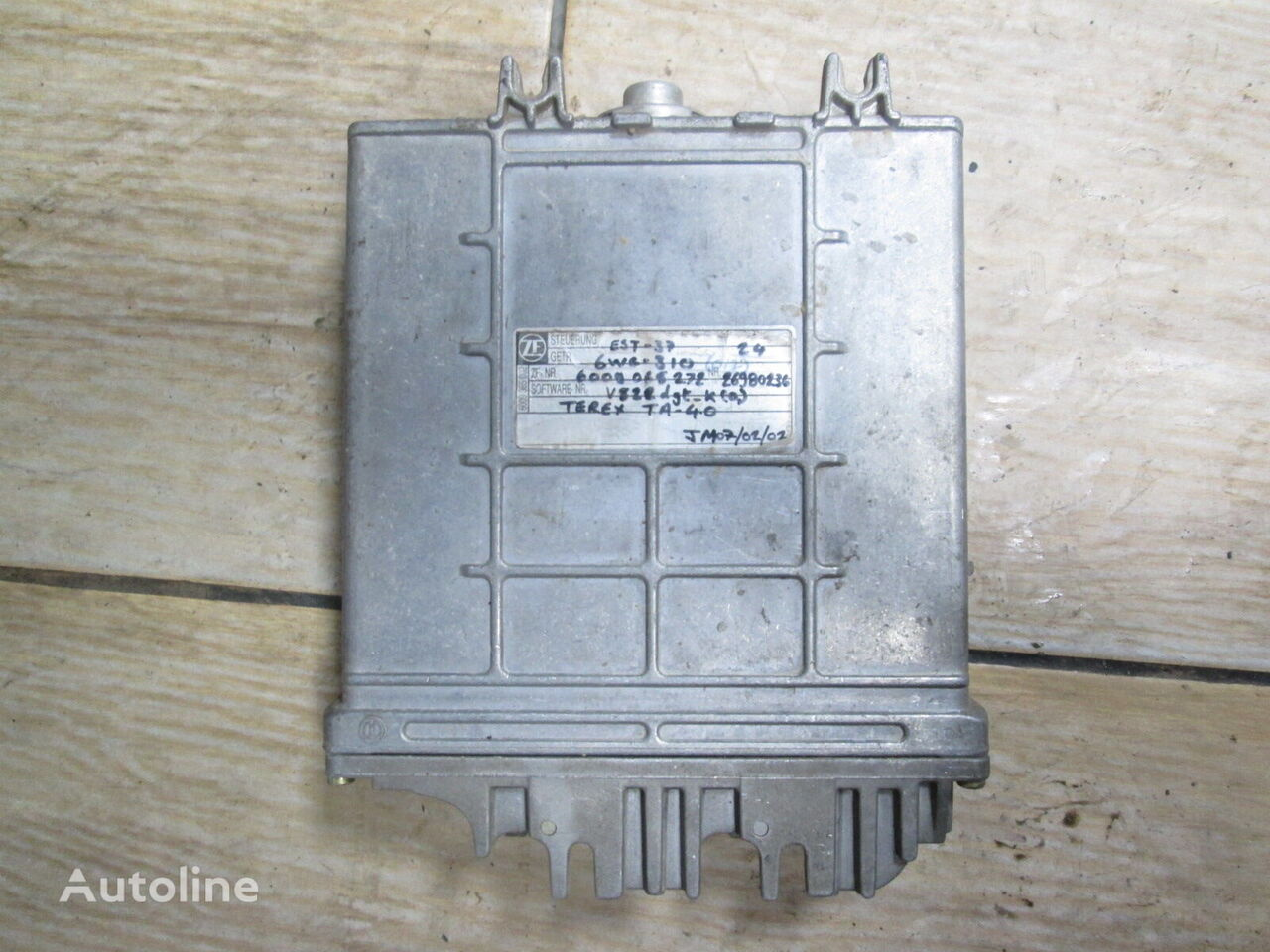 ZF for 6WG-310 (6009 065 272) control unit for TEREX TA 40 articulated dump truck