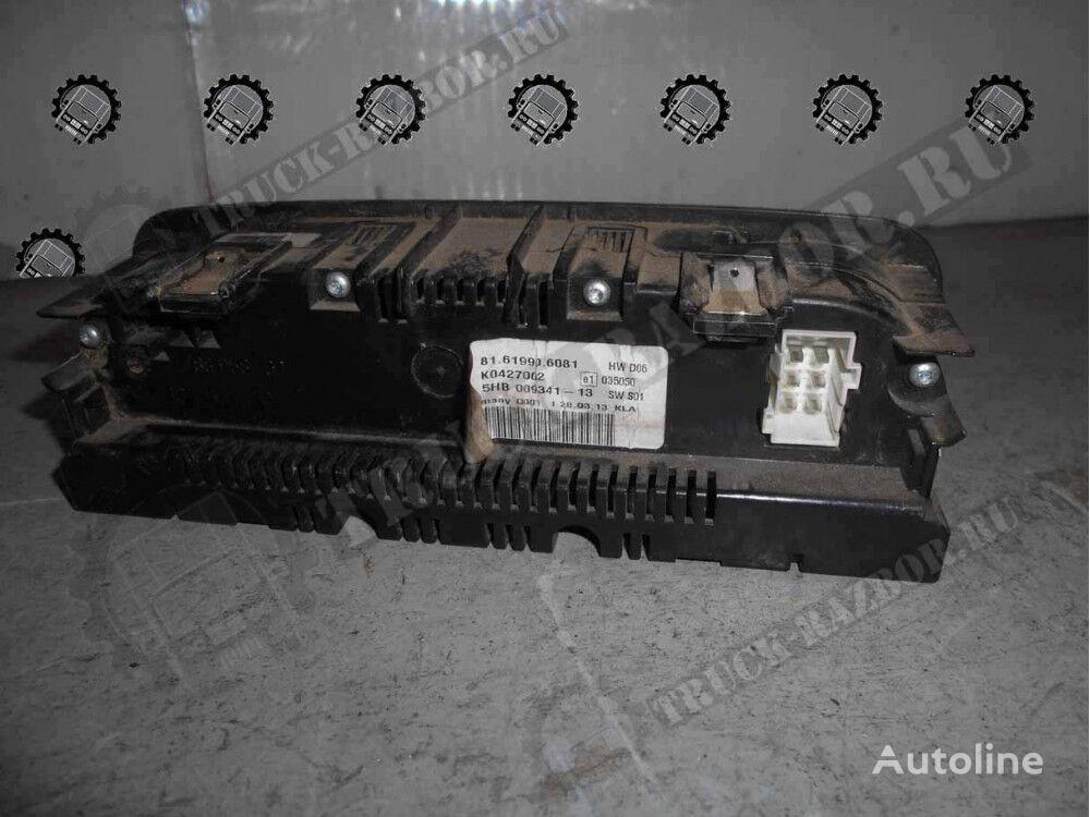 klimatom control unit for MAN tractor unit