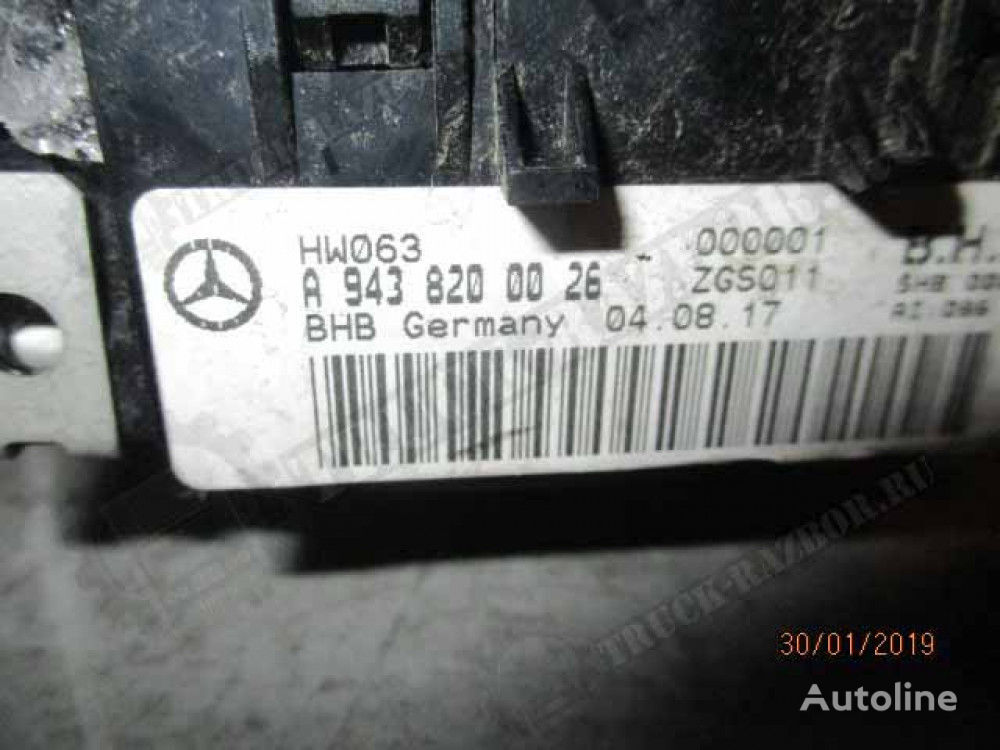 otopitelem (9438200026) control unit for MERCEDES-BENZ tractor unit