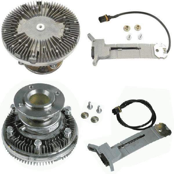 new MAN 51066300076.51066300108.51066300115.8MV 376 758-471.7063401. BEH cooling fan for MAN TGA truck