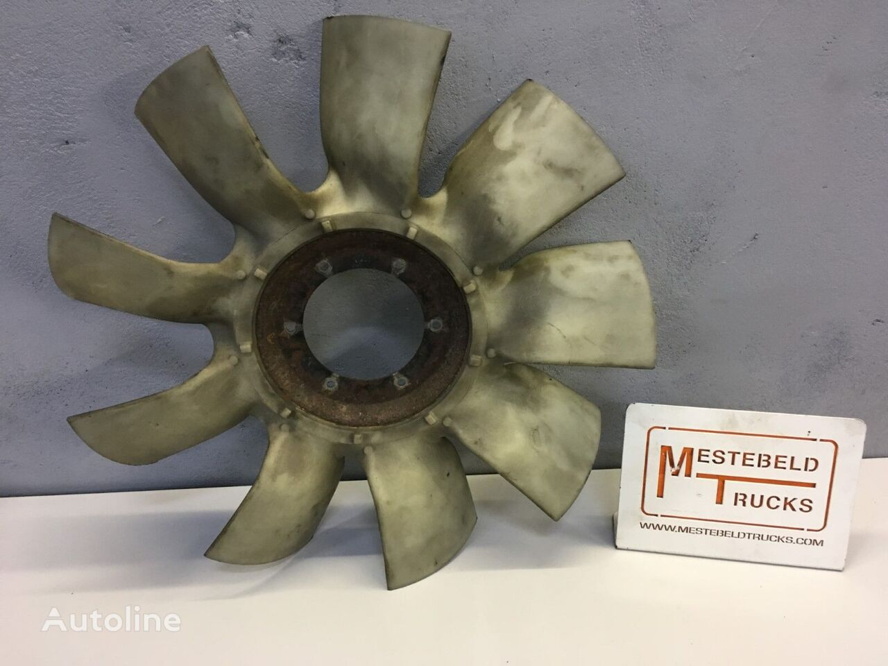Vin Paccar cooling fan for DAF truck