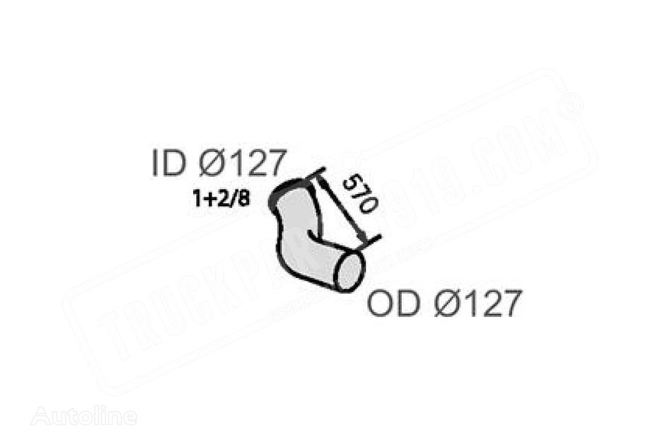 new VOLVO DT (8154893) cooling pipe for VOLVO truck