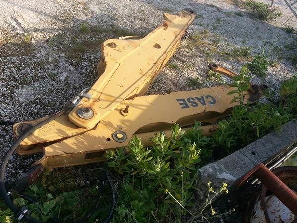 CASE crane arm for CASE 580  backhoe loader