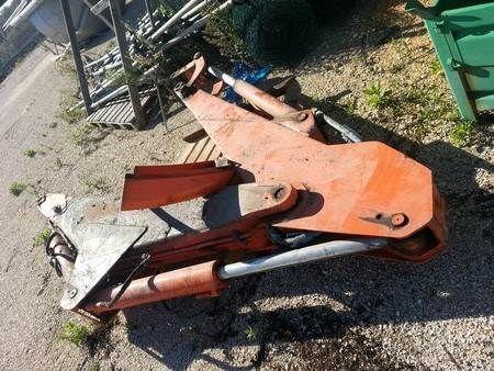 NEW HOLLAND Lanças Rectroescavadora Lanças Rectroe crane arm for backhoe loader