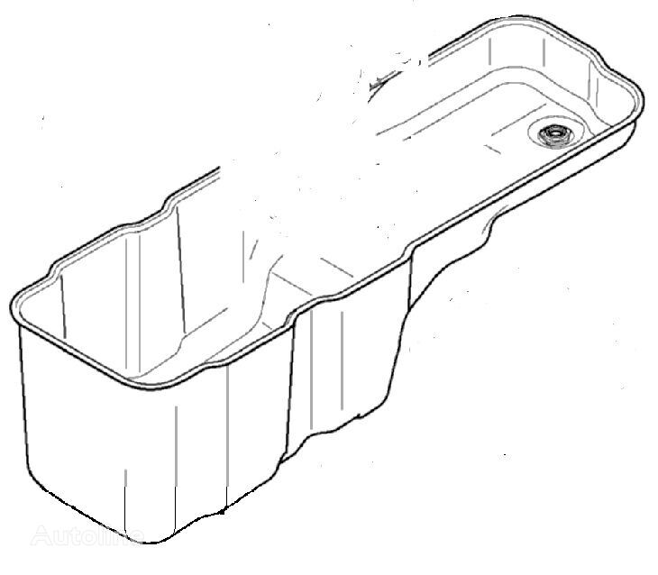 Oil Sump (1659860) crankcase for DAF XF95/XF105 (2001-) tractor unit