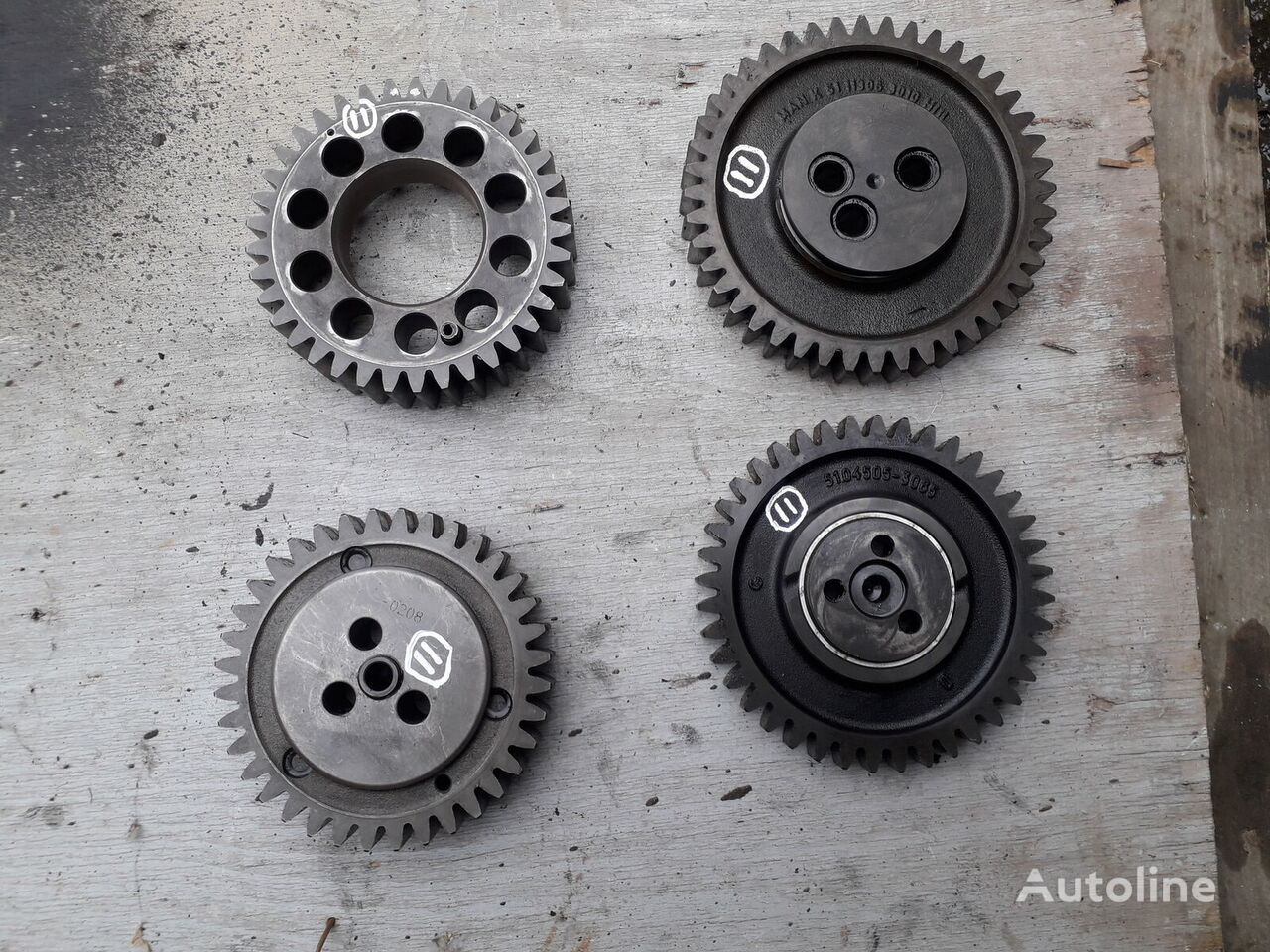 MAN D 2066 crankshaft gear for truck