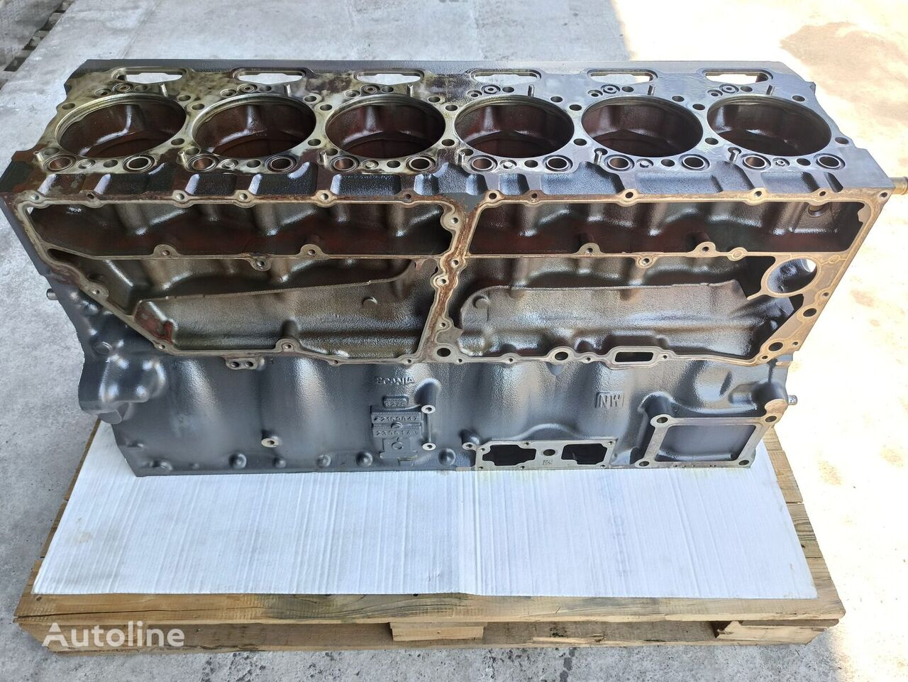 ENGINE BLOCK DC 13.07 (2159847) cylinder block for tractor unit