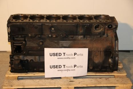MAN cylinder block for MAN tractor unit