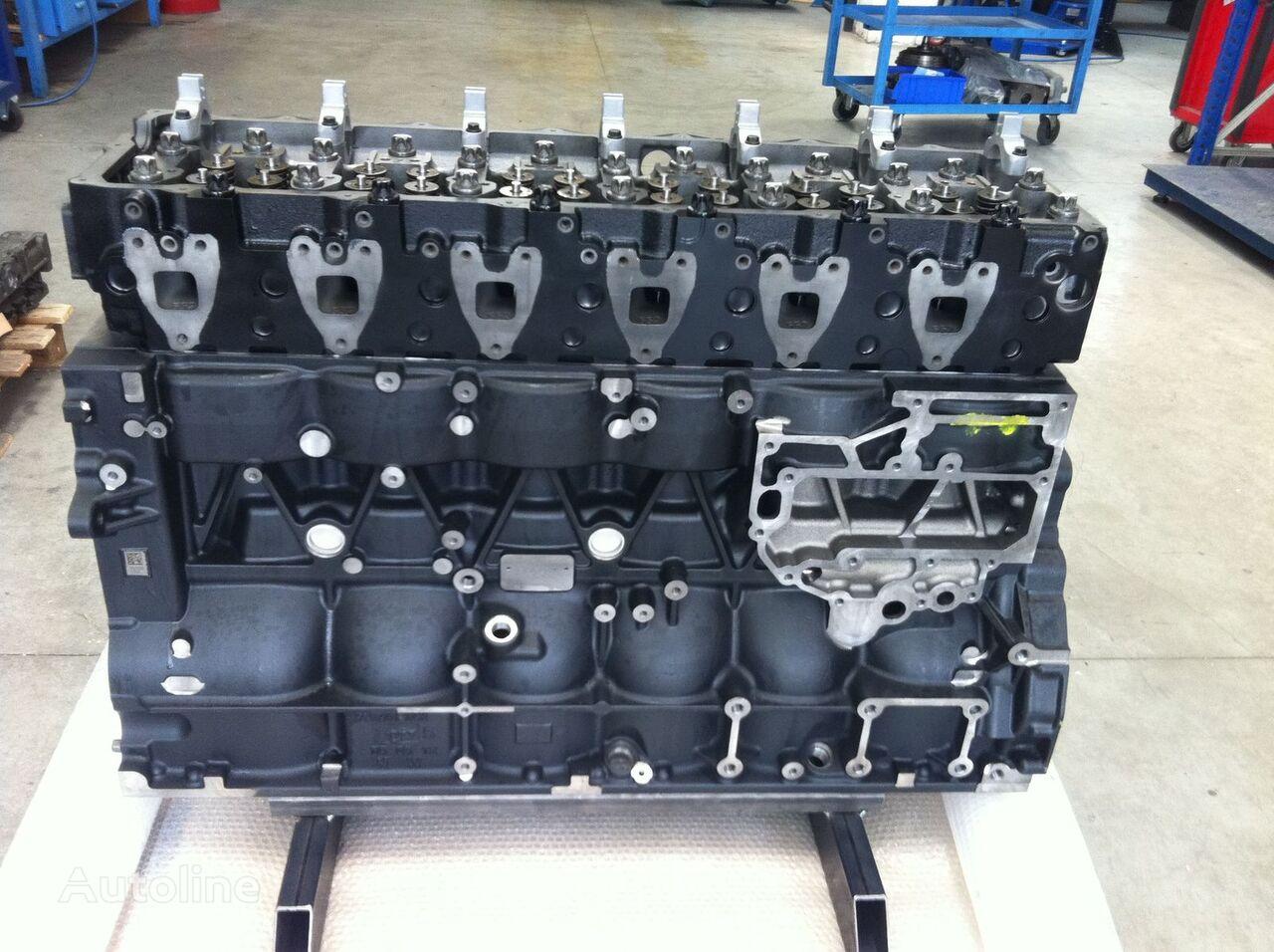 MAN - MOTORE D2066LOH28 / D2066 LOH28 - per BUS e cylinder block for truck