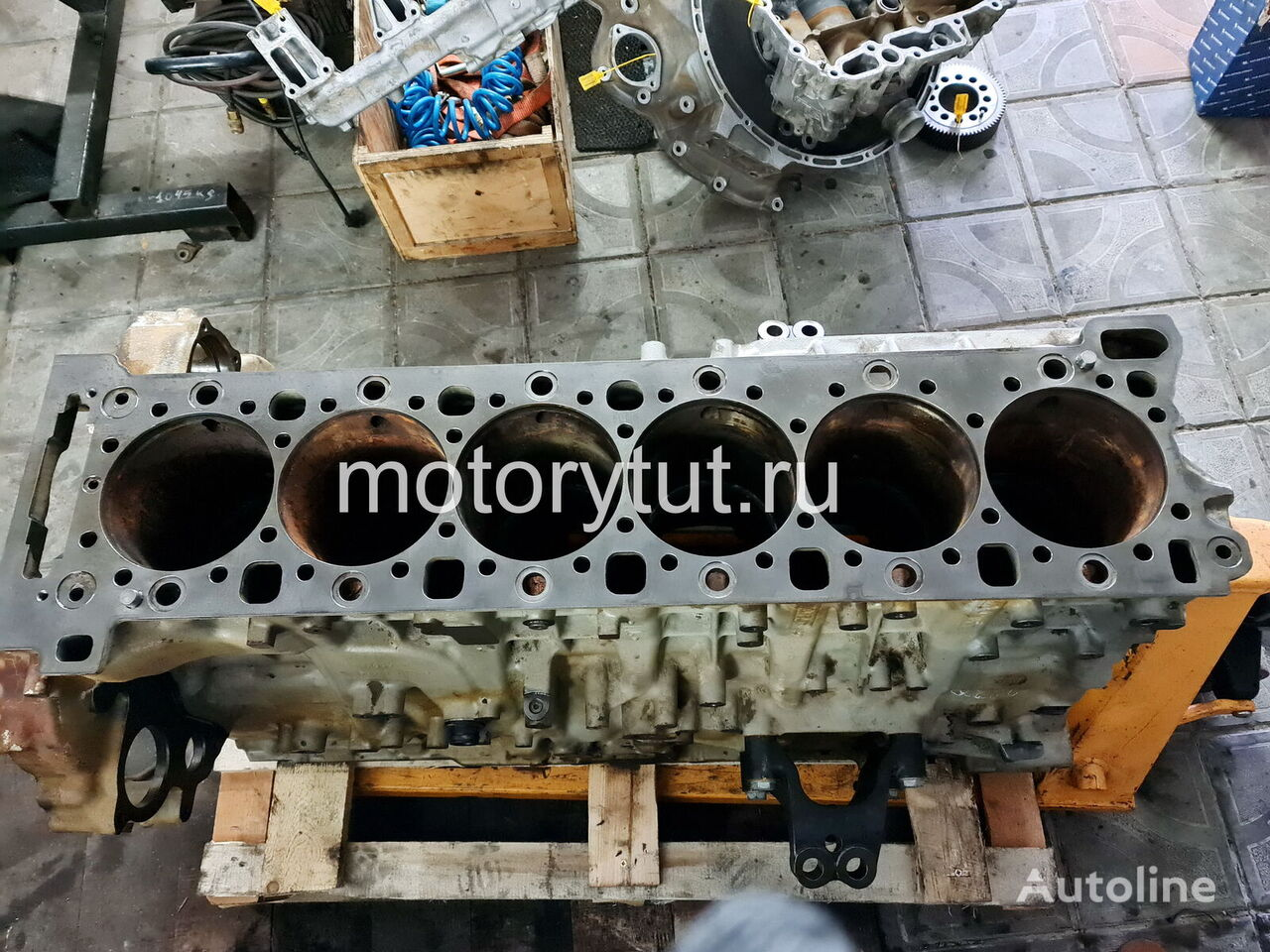 MERCEDES-BENZ OM473LA (4720100705) cylinder block for other construction machinery