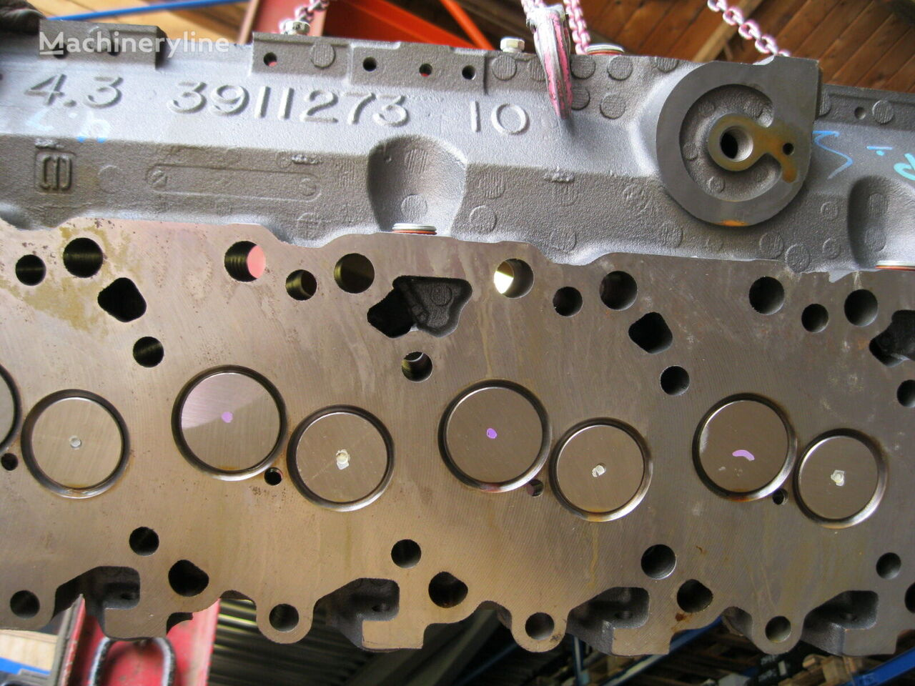 Cummins Iveco cylinder head for excavator