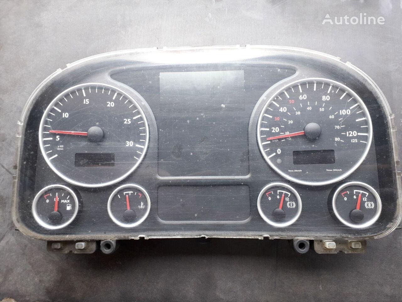 dashboard for MAN TGA tractor unit
